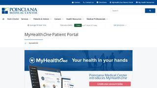 Poinciana Medical Center Patient Portal