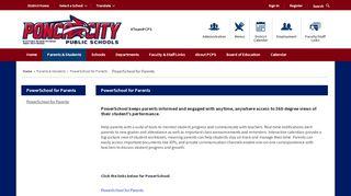 Ponca City Public Schools Parent Portal