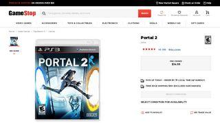 Portal 1 Ps3 Gamestop