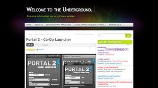 Portal 2 Coop Launcher