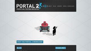 Portal 2 Fan Site