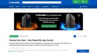 Portal 2 Kritik