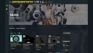 Portal 2 Skins