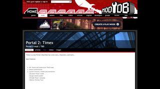 Portal 2 Timex