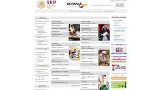 Portal Conevyt Org Mx