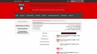 Portales High School Graduation 2017