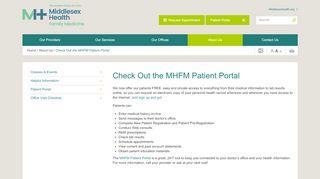 Portland Family Practice Patient Portal