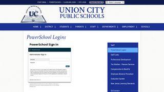 Powerschool Student Login Union City Nj