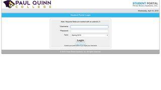 Pqc Student Portal