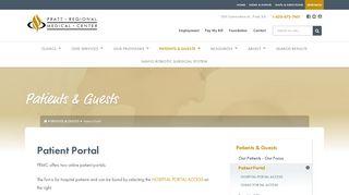 Pratt Family Practice Patient Portal