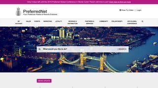 Preferred Hotel Group Member Portal