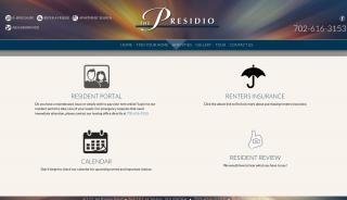 Presidio Apartments Resident Portal