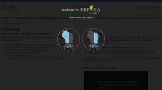Prevea Patient Portal