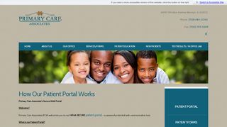Primary Care Associates Berwyn Patient Portal