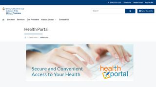 Primary Health Group Patient Portal