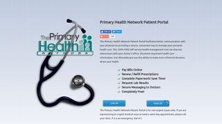 Primary Healthcare Associates Patient Portal