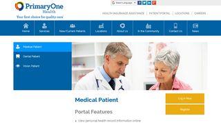 Primary One Health Patient Portal