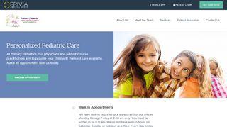 Primary Pediatrics Patient Portal