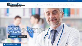 Primary Plus Patient Portal