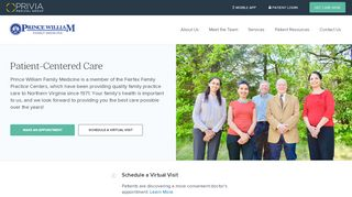 Prince William Family Medicine Patient Portal