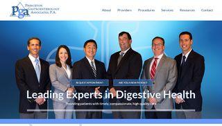 Princeton Gastroenterology Patient Portal