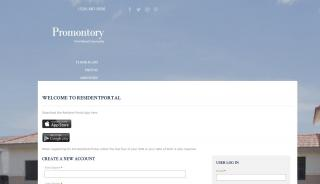 Promontory Apartments Resident Portal