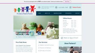 Providence Pediatrics Patient Portal