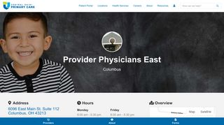 Provider Physicians East Patient Portal