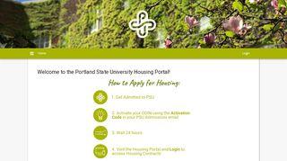 Psu Housing Portal