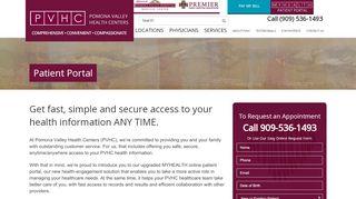 Pvmc Patient Portal