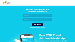 Pyur Online Portal