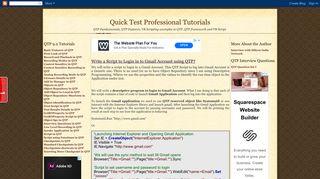 Qtp Script For Gmail Login