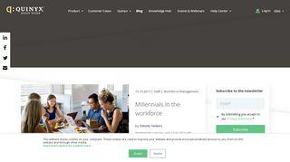 Quinyx Staff Portal