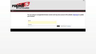 Rapid Client Portal