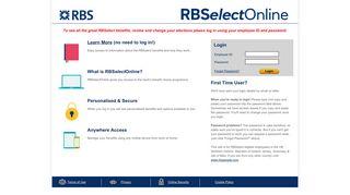 Rbs Employee Login