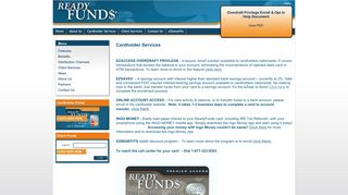 Ready Funds Client Portal