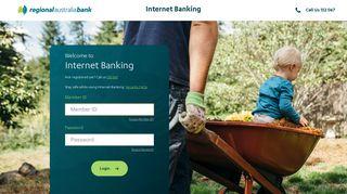 Regional Australia Bank Internet Login