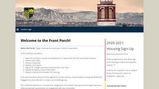 Regis Housing Portal