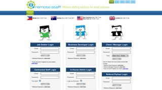 Remote Staff Portal