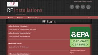 Rf Installations Store Login
