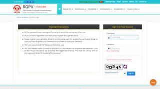 Rgpv Student Portal