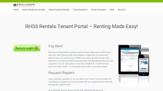Rhss Tenant Portal
