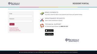 Richdale Apartments Resident Portal