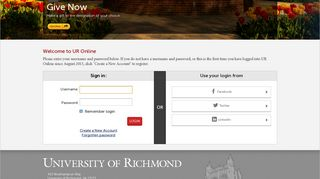 Richmond Login
