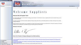 Rite Aid Supplier Portal