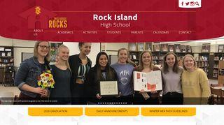 Rock Island High School Student Portal