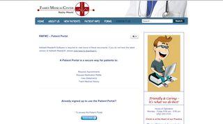 Rocky Mount Family Medical Portal