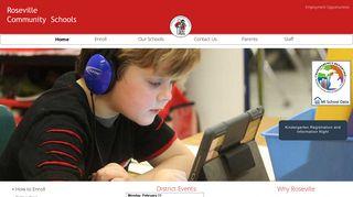 Roseville Community Schools Parent Portal