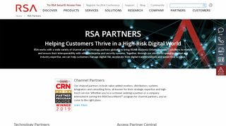 Rsa Partner Portal