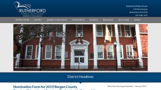 Rutherford Schools Parent Portal